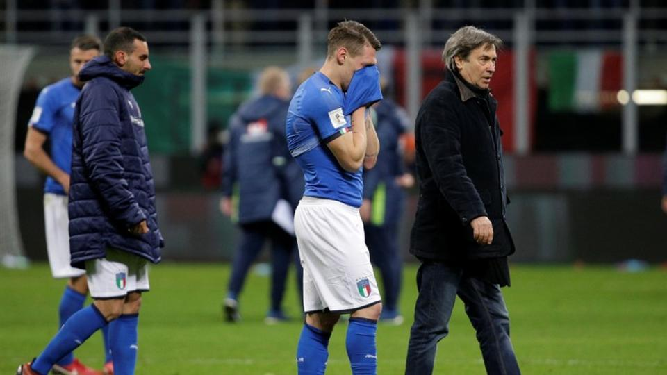Itaalia leppis kodus Rootsiga viigi ning ei võta jalgpalli mm-ist osa esimest korda 60 aasta jooksul
