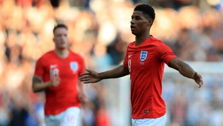 Inglismaa – Costa Rica 2-0, Rashfordilt hea mäng